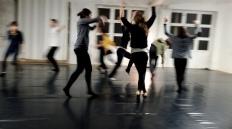 Aula de Dança Contemporânea/Forum Dança