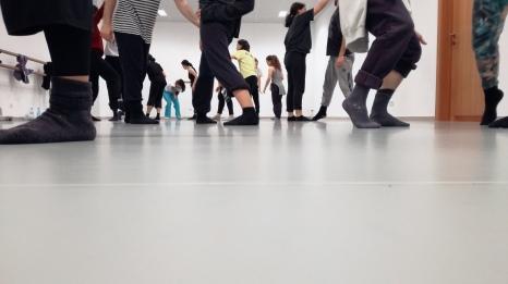 Aula de Dança Contemporânea/Escola Superior de Dança